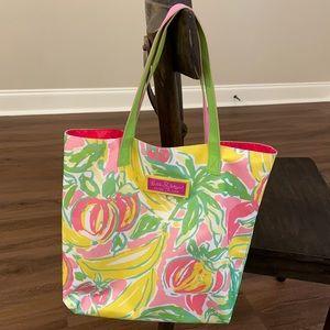 Lily Pulitzer for Estēe Lauder Tropical Tote Bag